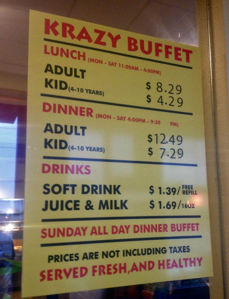 Krazy Buffet Las Vegas 4 Reasons Why We Will Return