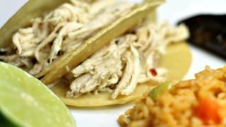Cilantro Lime Chicken Tacos