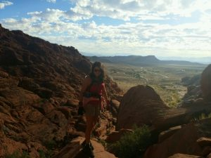 hiking las vegas with kids