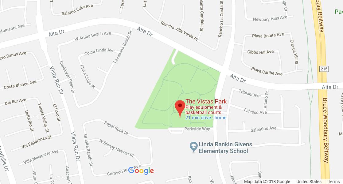 Vistas Park in Summerlin