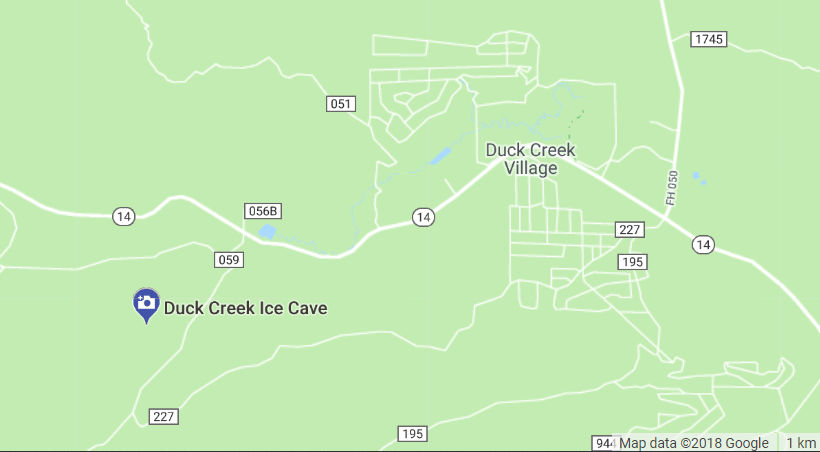 Duck Creek Ice Cave