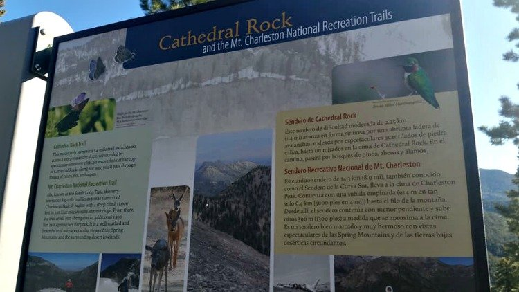 Cathedral Rock at Mt. Charleston