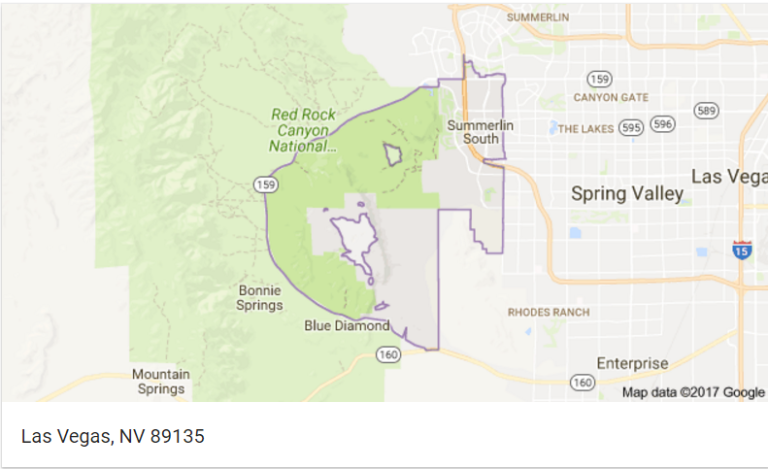 Summerlin Zip Codes