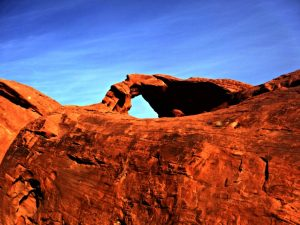 Natural Arch at Valley of Fire