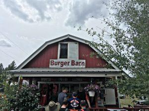Burger Barn at Panguitch Lake Utah