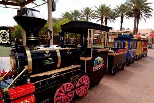 Town Square Cactus Coaster Train Ride
