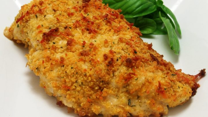 Panko Breaded Baked Chicken