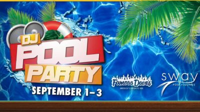Labor Day DJ Pool Party at the Silverton Casino - Menu of
