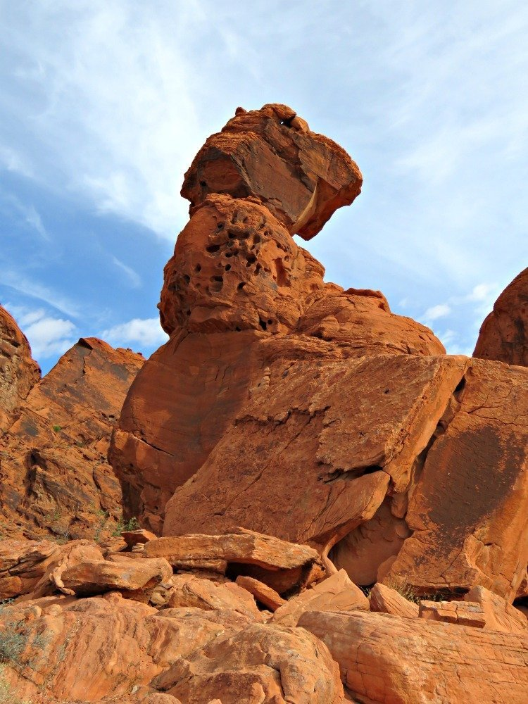 Balancing Rock at the Valley of fire