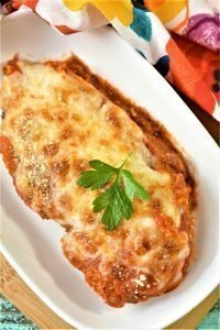 Low Carb Chicken Parmesan